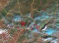 Космический мониторинг лесных пожаров