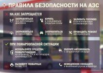 Правила заправки автотранспорта на АЗС